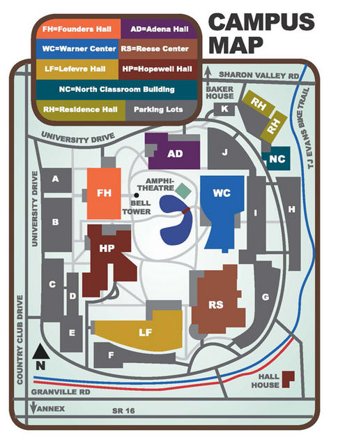 Map To The Library