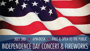 Independence Day Concert & Fireworks