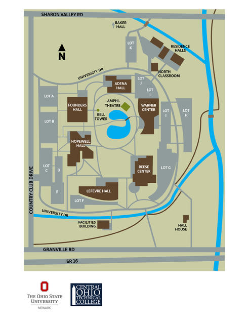 Columbus State Building Map