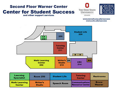 osu newark campus map Center For Student Success The Ohio State University At Newark osu newark campus map